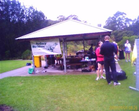 Sydney Striders Tent
