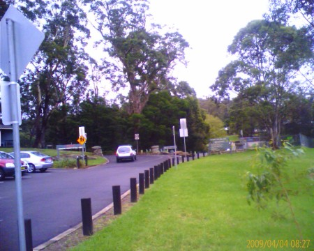 Race course at Lane Cove Park